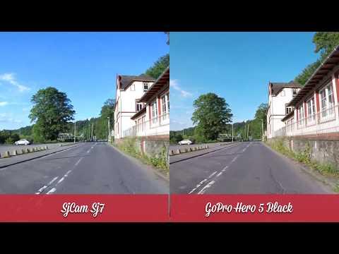 Sjcam Sj7 Star vs GoPro Hero 5 Black  Video Test // Teil 2/2 // in 4K