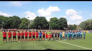 Cascadia Anthem At Tamil Eelam Vs. Cascadia   2018 CONIFA World Football Cup Match