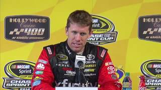 Repeat youtube video 2016 NASCAR Kansas Sprint Cup Post Race Q&A