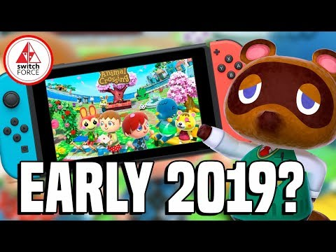 Animal Crossing Switch Coming Sooner Than Expected?