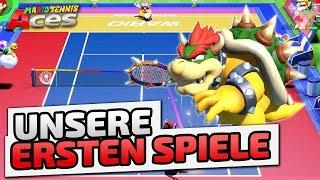 Unsere ersten Spiele - ♠ Mario Tennis Aces #001  ♠ - Nintendo Switch - Dhalucard