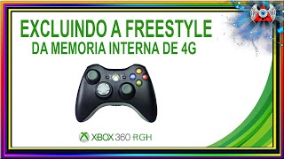 [360] • Como Excluir a Freestyle da Memoria Interna de 4gb do Xbox RGH