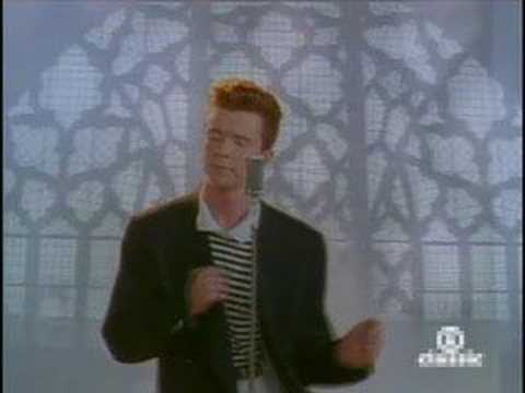 Rick Astley - Never Going To Give You Up - YouTube