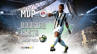 Douglas Costa wins January MVP powered by EA Sports