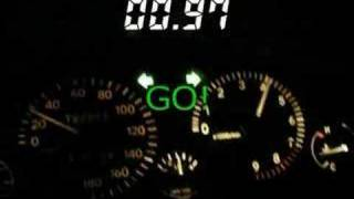 Toyota Starlet GT EP82 Turbo 0-100km/h Acceleration 4.87 seconds