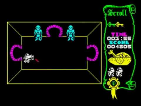Atic Atac Walkthrough, ZX Spectrum