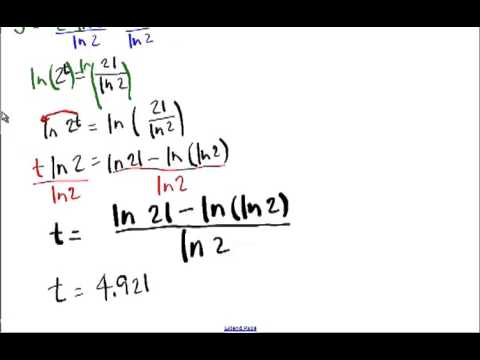 Calculus 3.9 Notes Part 1 Derivatives of Exponential and