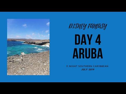Disney Cruise Vlog: Disney Fantasy/11 Night Southern Caribbean Cruise/ Day 4- Aruba