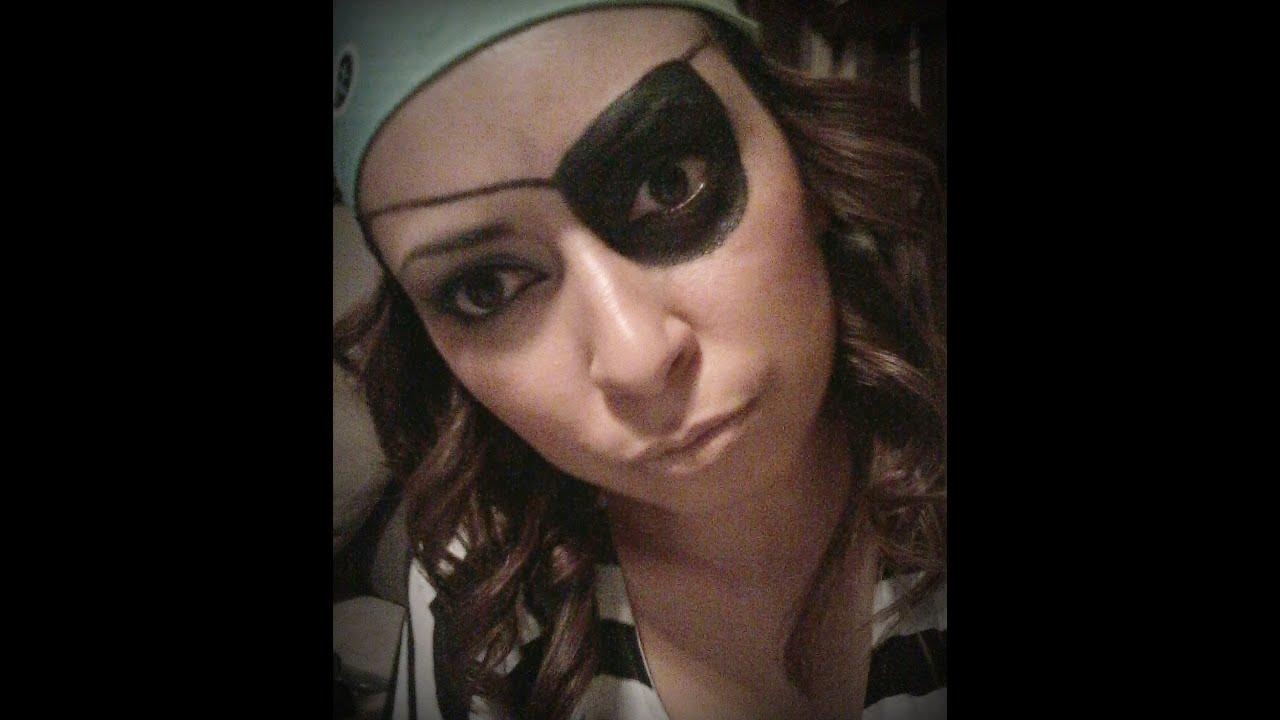 maquillaje de pirata youtube
