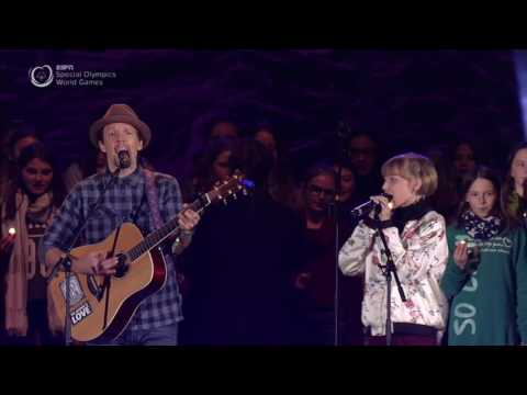 Jason Mraz And Grace VanderWaal Perform | Special Olympics Winter World Games Austria 2017