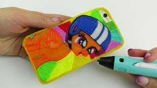 DIY iPhone Case with Scootaloo How to Draw 3D Pen! My Little Pony Coloring Video for Kids