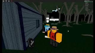 Roblox (en anglais) Histoire de camping Partie 1