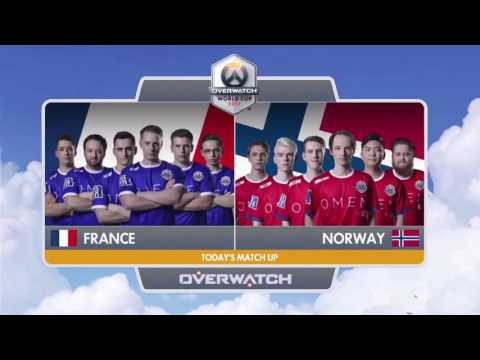 France vs Norway | Shanghai Group Stage | Overwatch World Cup