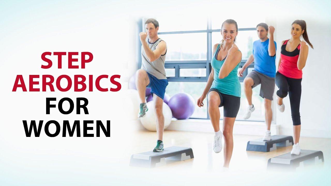 step aerobics for women anoop femme fitness youtube