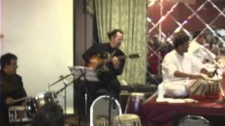 Hitesh Master sings with Legendary Sitar Maestro Rais Khan, with Jazz Musicians