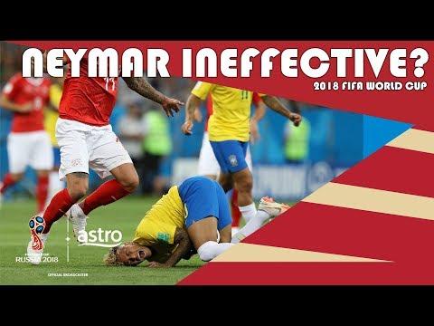 Why was Neymar ineffective? | 2018 FIFA World Cup | Astro SuperSport