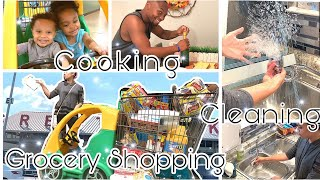 Shop With Me || Cook & Clean With Me 2019 || Kitchen Cleaning Motivation