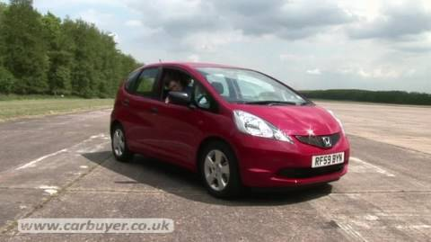 honda jazz hatchback review carbuyer youtube. Black Bedroom Furniture Sets. Home Design Ideas