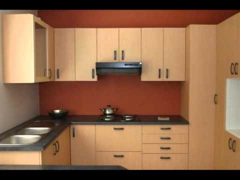 Ensemble modular kitchens wardrobes accessories more for Semi modular kitchen designs