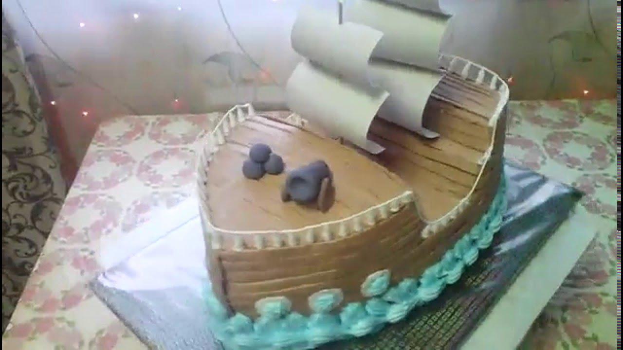 Торт Корабль рецепт с фото пошаговый Едим Дома кулинарные 92