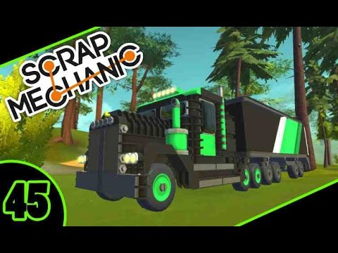 Scrap Mechanic : #45 CAMION AMÉRICAIN !!