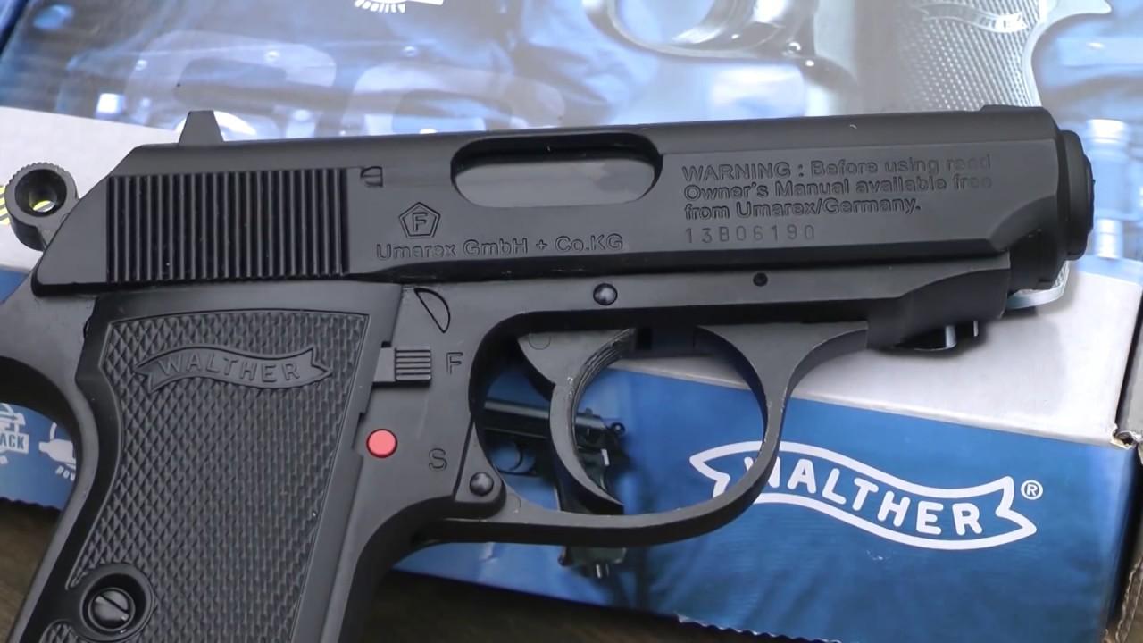 AIR PISTOL - Umarex Walther PPKs Handgun CO2 BB Gun