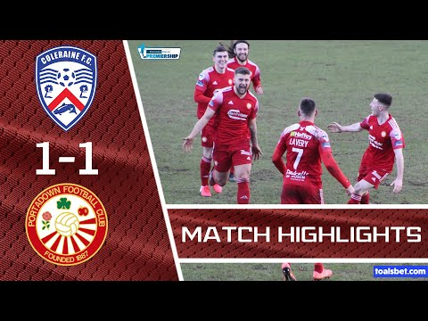 Coleraine Portadown Goals And Highlights