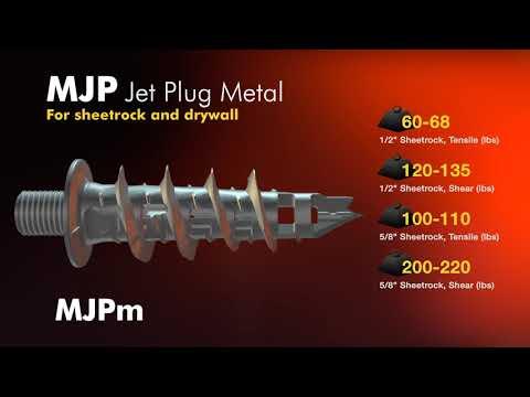 Metallics Metal Jet Plug