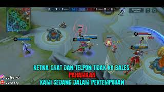 story wa gamers || story baper
