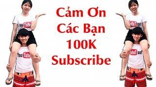Hưng Vlog - 100000 Subscribe Cảm Ơn Các Bạn | I Love You BẸp Bẹp