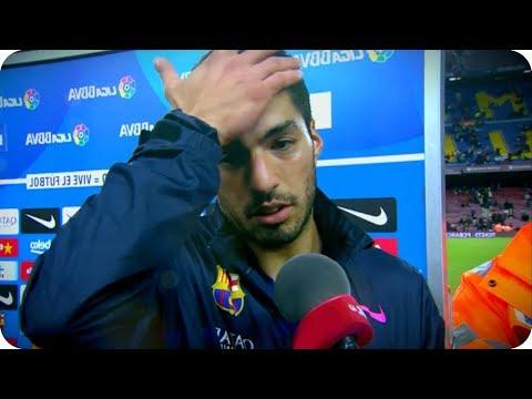 Luis Suárez se Burla de Dembelé