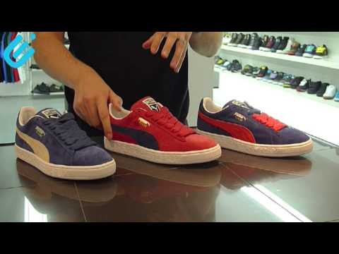 9b3898b43aa Puma Suede - Original Colourways - Headless Preview No.3 - YouTube