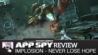 Implosion - Never Lose Hope | iOS iPhone / iPad Gameplay Review - AppSpy.com