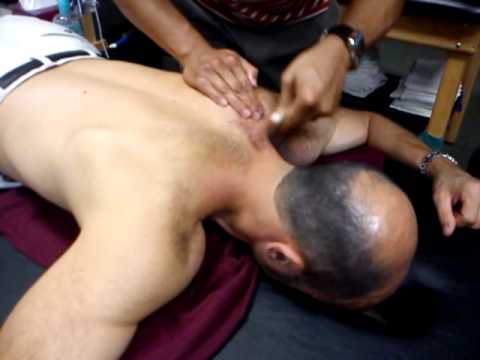 Tool Assisted Soft Tissue Manipulation of Upper Trap