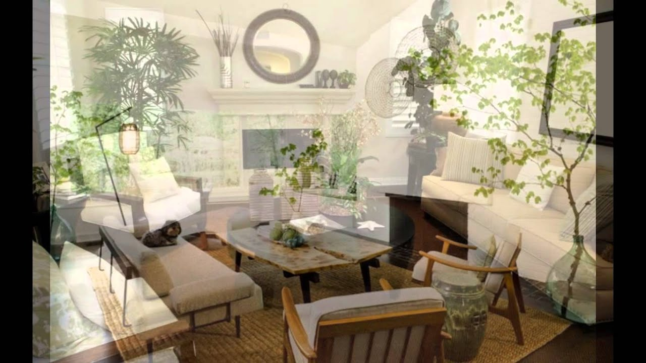 Living Room Decor With Plants Pictures Of Sofas In Rooms Decorating Design Youtube