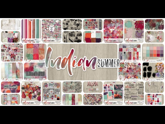 Indian Summer – playing with the Weekly Templates