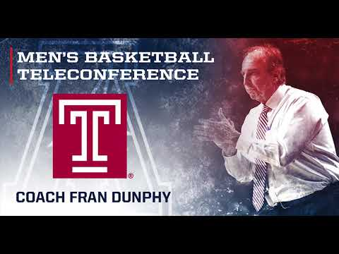 2019 American Men's Basketball Teleconference - Temple Head Coach Fran Dunphy