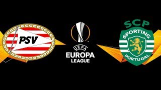 PSV Eindhoven vs Sporting CP | UEFA Europa League | PES 2020