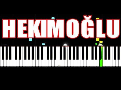 Hekimoğlu Türküsü - Piano Tutorial by VN