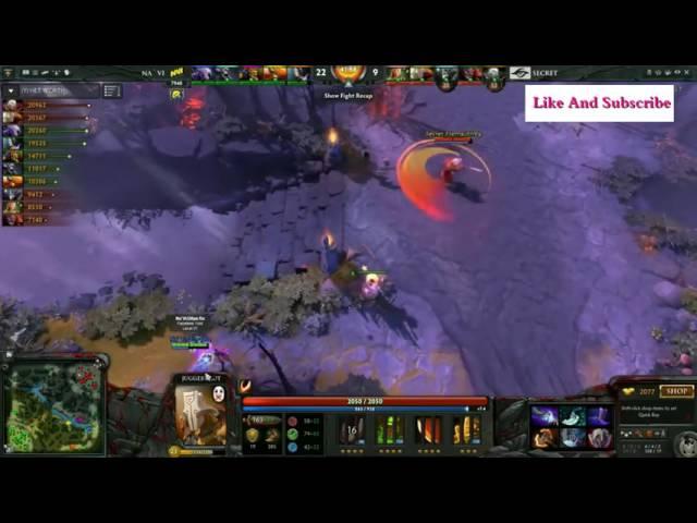 Navi vs Secret Highlight Dota 2 Manila Major game 1 2016