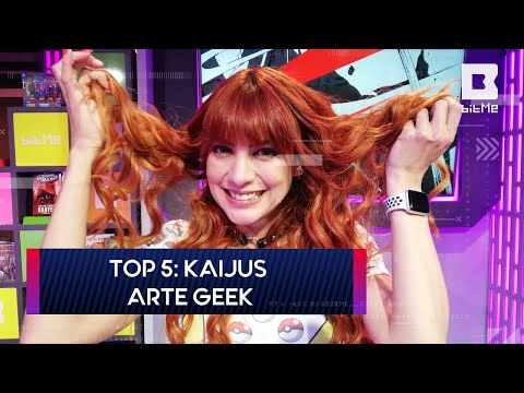 Top 5: Kaijus | Arte Geek