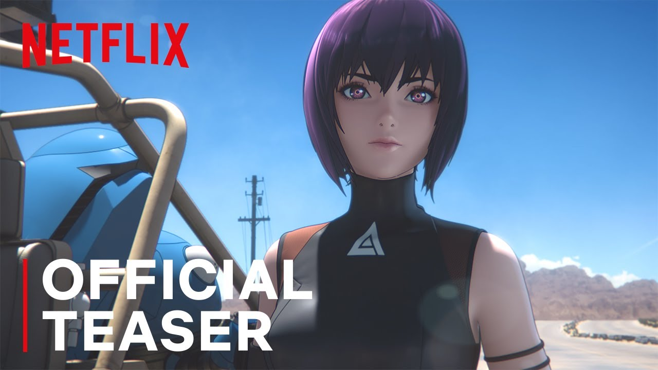 Ghost In The Shell Sac 2045 Teaser Netflix Youtube