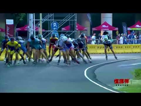 World Roller Games 2017 - Speed Skating - JUNIOR Men 20.000M ELIMINATION | ROAD