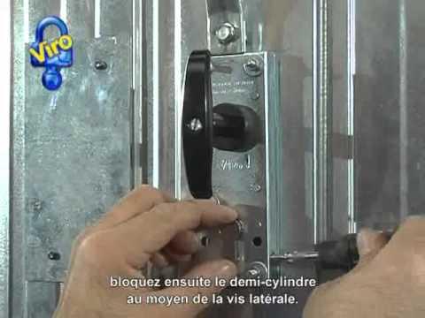 Serrure Blindee Pour Portes Basculantes 8234 Youtube