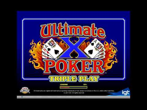PartyCasino Demo - Ultimate X Triple Play Draw Poker | ClubMikeV
