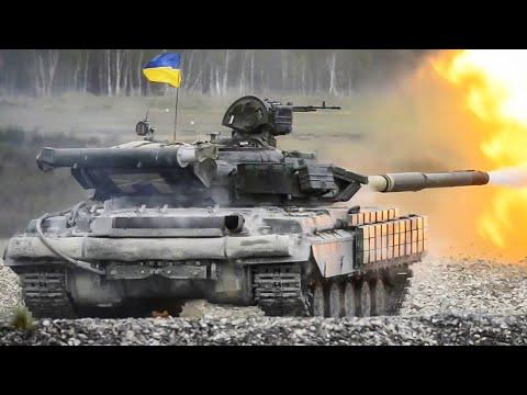 Танки Абрамс, Леопард, Леклерк и украинские Т-64 на соревнованиях в Германии 2017