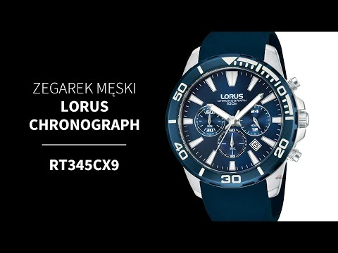 Zegarownia Lorus Chronograph Mski Kod Produktu Rt345cx9 Youtube