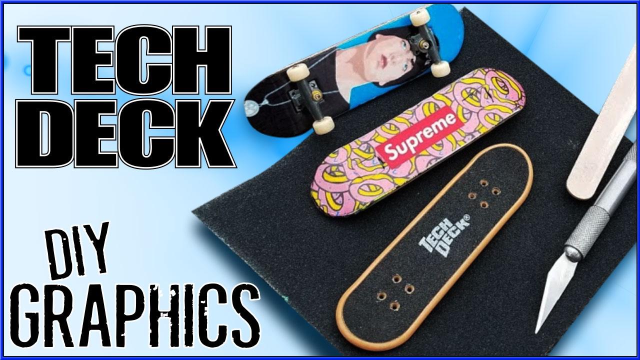 Custom Supreme Eminem Tech Deck