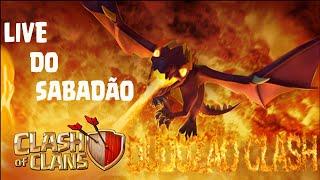 Live do sábadão/completando o evento do dragão/Clash of Clans