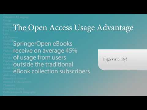 Springer in :60 - SpringerOpen Books